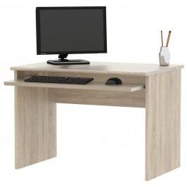 Praktická MB Domus Kancelářský PC stůl JH311, dub sonoma lamino