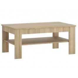 Praktická extom Konferenční stolek UNNI, dub sonoma DOPRODEJ lamino