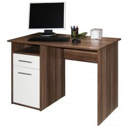 Kasvo MIRO PC stůl švestka / bílá lamino