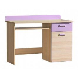 Univerzální tempo Kondela Ego stůl L10 jasan/fialová lamino