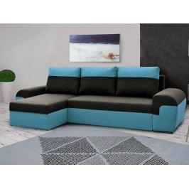 Univerzální smartshop Rohová sedačka MORY KORNER, černá/modrá DOPRODEJ látková