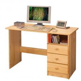 Idea PC stůl 8844 lakovaný, dřevěný masiv borovice
