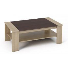 Kvalitní smartshop BERN konferenční stolek, dub sonoma/wenge lamino