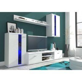 Kvalitní bílá casarredo Life Obývací stěna lamino