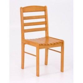 Halmar Jídelní židle BRUCE, olše zlatá masivní