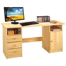 IDEA nábytek PC stůl 8847 lakovaný 8847 borovice