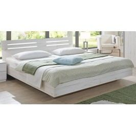 Moderní DIGNET SUZAN, postel 160x200 cm, bílý dub