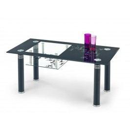 Halmar Konferenční stolek MONROE, černý ocelová