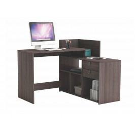 DEMEYERE VISSTA, univerzální rohový psací stůl, dub vulcano lamino