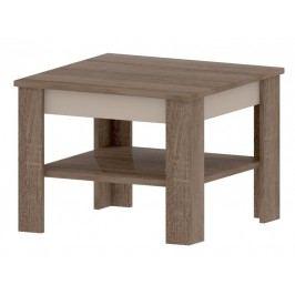 Bog Fran TOKIO A, konferenční stolek, dub sonoma truflový/champagne lamino