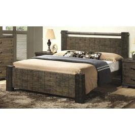 Kvalitní smartshop DiTAVOLA, postel 180x200 cm s roštem, masiv dřevěná