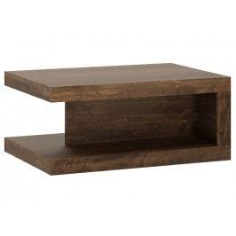 Extom Konferenční stolek SICILY, hidalgo/černý lesk lamino