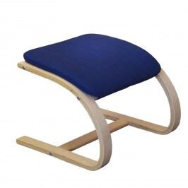Idea podnožka Lisa, modrá dřevěná