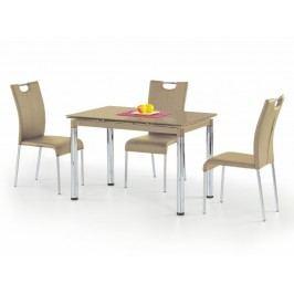 Halmar Jídelní stůl rozkládací L31, béžový ocelová