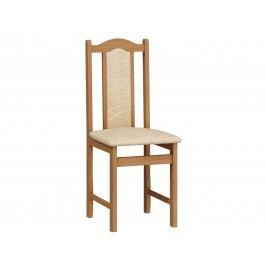 MORAVIA FLAT Jídelní židle A, potah monaco, olše látková