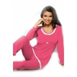 Pyžamo klasické rovné nohavice