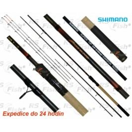 Shimano® Fireblood Feeder Medium 3,6m 3+3díl