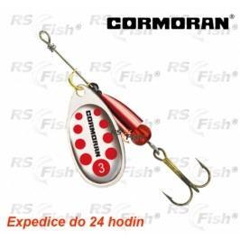 Cormoran® Bullet - stříbrná / červené tečky 4 - 50-42104