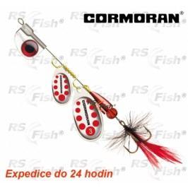 Cormoran® Bullet AT Tandem - stříbrná / červené tečky 3 - 50-44003
