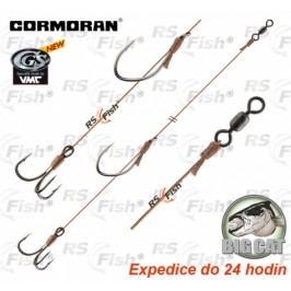 Cormoran® Big Cat Mega Baitrig ST s háčkem a trojháčkem 6/0 - 78-00406