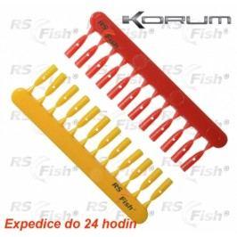 Korum® Quickstops - žlutá / červená