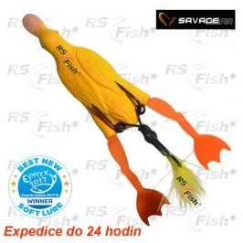 Savage Gear 3D Hollow Duckling Weedless S - barva Yellow