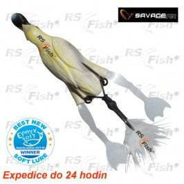 Savage Gear 3D Hollow Duckling Weedless S - barva White