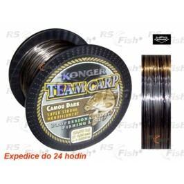 Konger® Team Carp Camo Dark 1000 m 0,25 mm