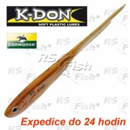 Cormoran® K-DON S2 Spearl Tail - barva dark brown 130 mm - 51-31137
