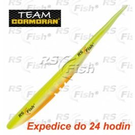 Cormoran® TC Slick Worm SB5 - barva white yellow 120 mm - 51-53312
