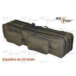 RS Fish® Pouzdro na pruty - 3 komory polstrované 140 cm