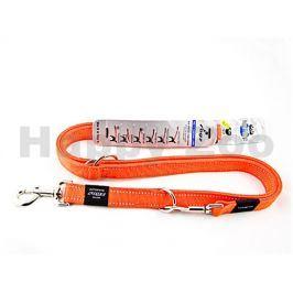 Vodítko přepínací ROGZ Utility HLM 06 D-Orange (L) 2x100-130-160