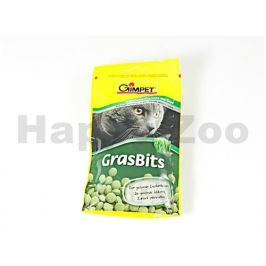 GIMCAT GrasBits -  tablety s kočičí trávou 40g