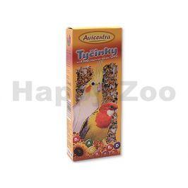 Tyčinky AVICENTRA malý papoušek vitamínovo-medové (2ks)