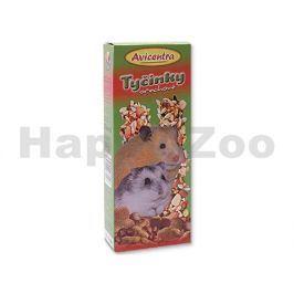 Tyčinky AVICENTRA malý hlodavec ořechové (2ks)