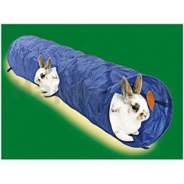 Hračka pro hlodavce FLAMINGO - nylonový tunel pro králíky 20x120