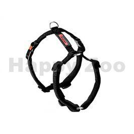 Postroj FLAMINGO No Limit teflonový černý (S) 1,5x35-50cm