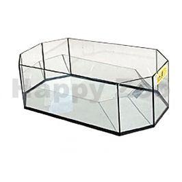 Želvárium TOMMI skleněné osmihranné (S) 50x25x17cm