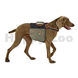 Postroj s brašnami na psa FLAMINGO (L) 32x27cm