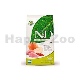 N&D Grain Free Prime Cat Adult Boar & Apple 1,5kg