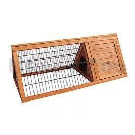 Dřevěná klec pro králíky FLAMINGO Tipi 110x50x41cm