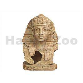 Dekorace FLAMINGO - Tutanchamon (L) 19x16x28cm