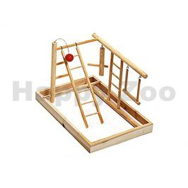 Hračka pro ptáky FLAMINGO - hrací hřiště (L) 35x25x27cm