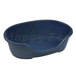 Plastový pelech FLAMINGO Domus modrý 60cm