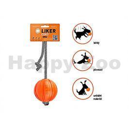 Míček pro psy COLLAR Liker Cord s provazem 7cm