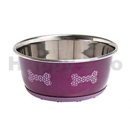 Nerezová miska FLAMINGO Selecta růžová 950ml (15cm)