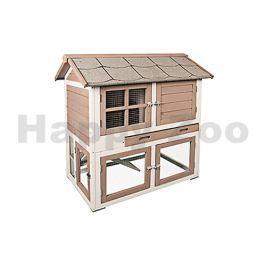 Dřevěná klec pro králíky FLAMINGO Snug 98x64x102cm