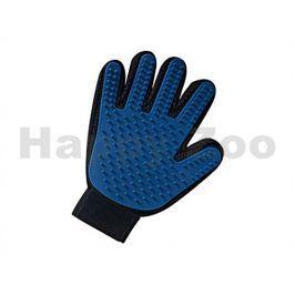 Vyčesávací a masážní rukavice FLAMINGO 24x18cm
