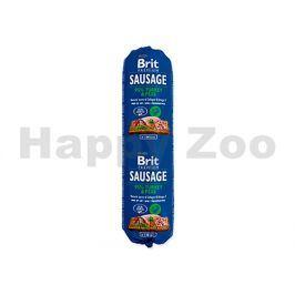 BRIT Sausage Turkey & Pea 800g