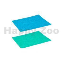 Předložka před toaletu FLAMINGO obdélníková zelená/modrá 40x30cm